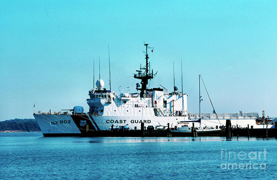 Us Coast Guard Photograph - Cutter Tampa by Thomas R Fletcher