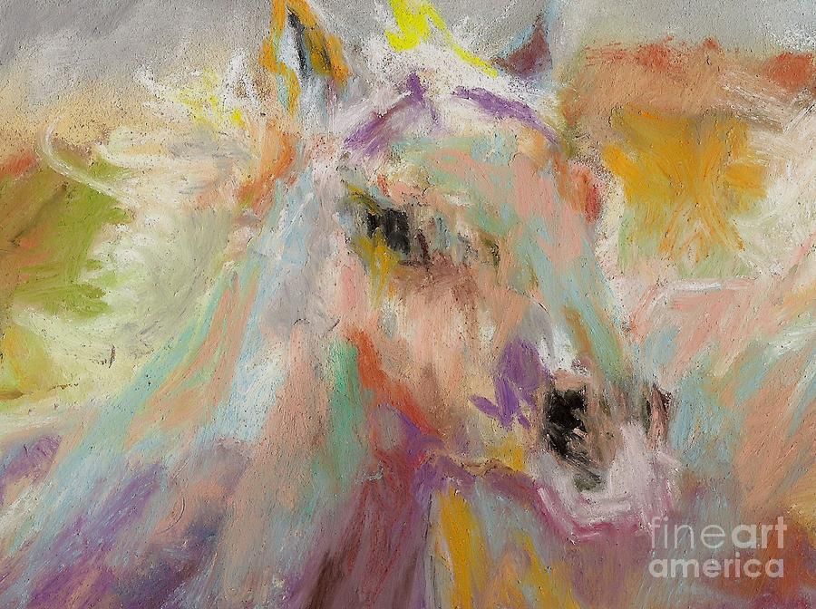 Horses Painting - Cutting Loose by Frances Marino