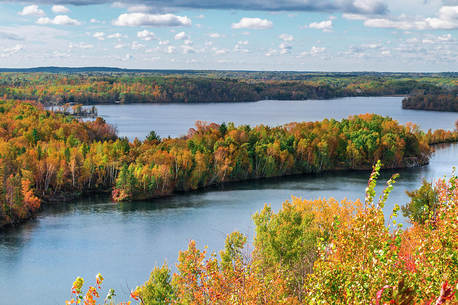 Autumn Photograph - Cuyuna Country State Recreation Area - Autumn #1 by Patti Deters