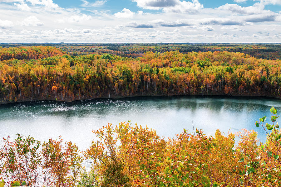 Autumn Photograph - Cuyuna Country State Recreation Area - Autumn #2 by Patti Deters