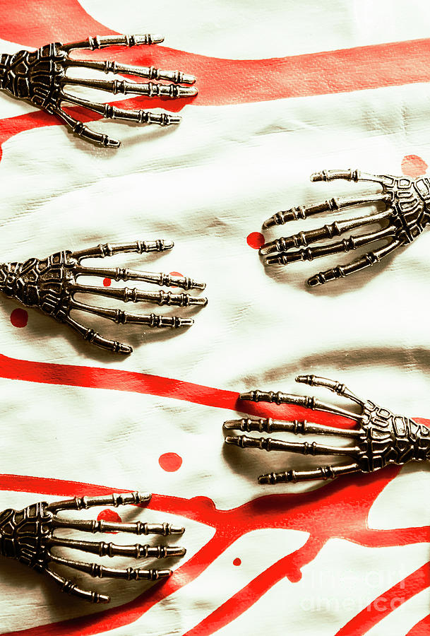 Skeleton Photograph - Cyborg Death Squad by Jorgo Photography - Wall Art Gallery