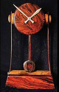 Cyborg Time Sculpture by Chuck Turigliatto