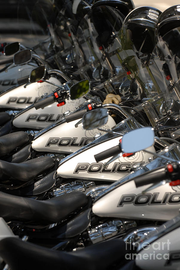 Motorcycle Photograph - Cycles by Dennis Hammer
