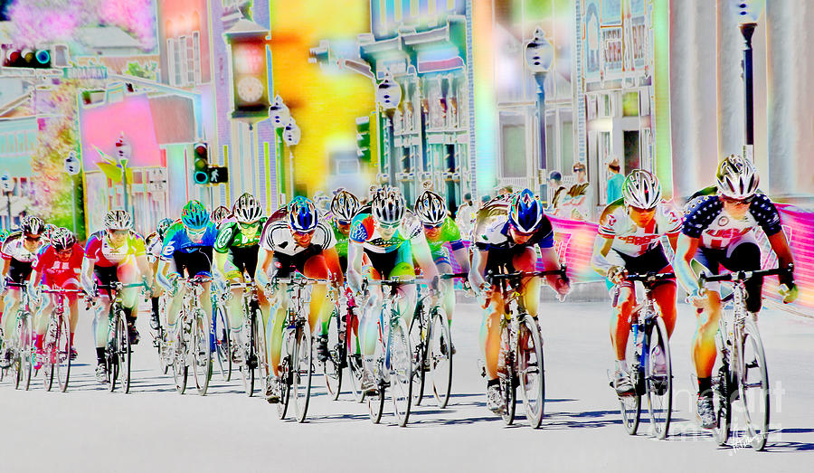 Fabulous Cycling Down Main Street Usa Photograph by Vicki Pelham DS09