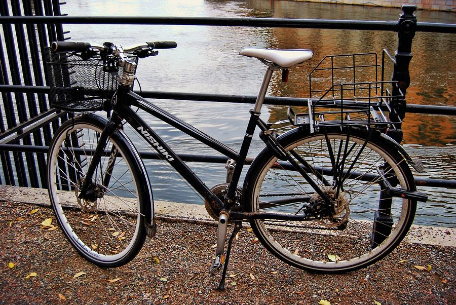 Sweden Photograph - Cycling In Sweden by JAMART Photography