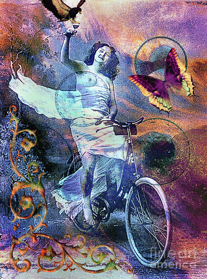 Cyclist  by Arthur Miller