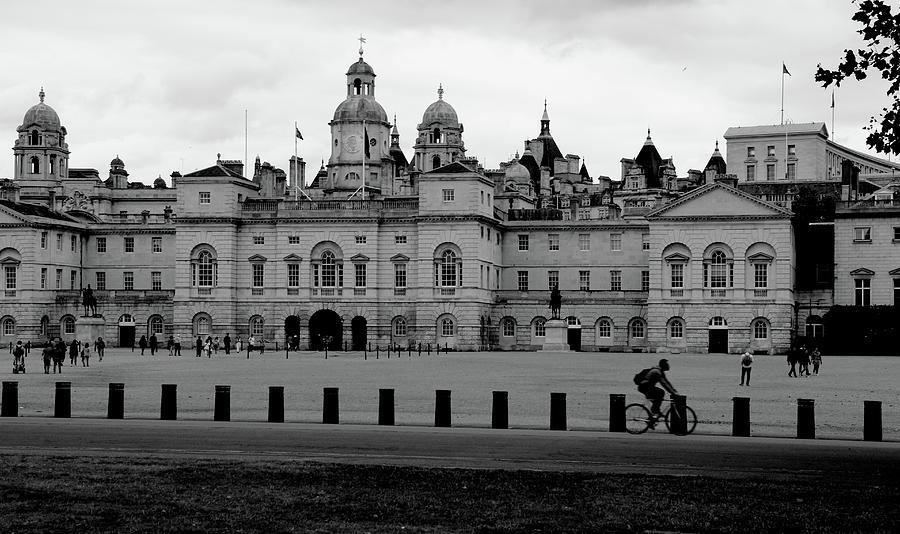 England Photograph - Cyclist In London by Sean Flynn