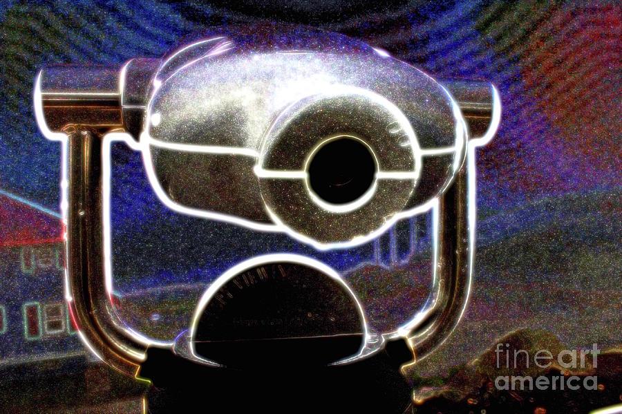 Cape Enrage Photograph - Cyclops Viewer by Samiksa Art