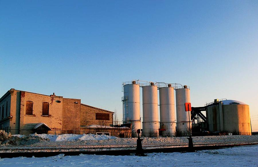 Industrial Landscape Photograph - Cylos by Alastair  MacKay