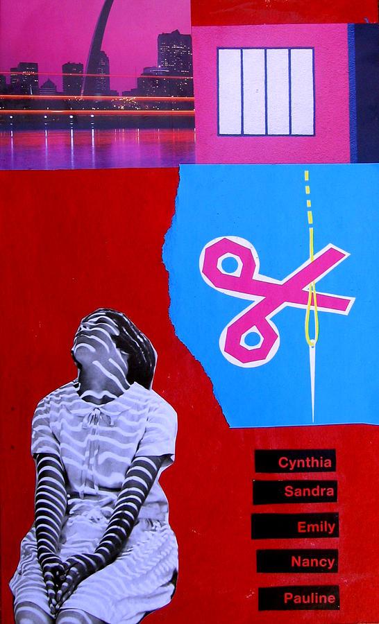 Dada Mixed Media - Cynthia...sandra... by Adam Kissel