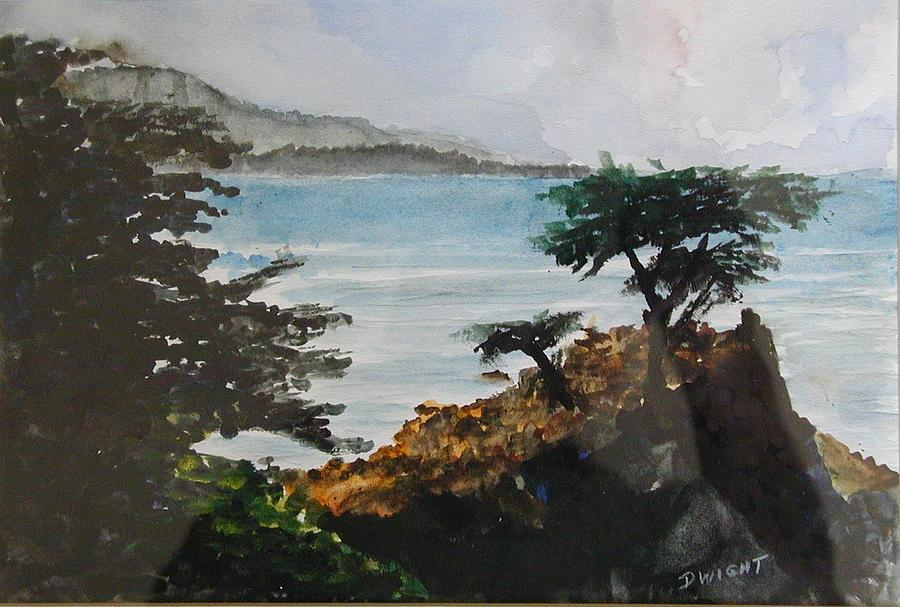 Tree Painting - Cypress by Dwight Williams