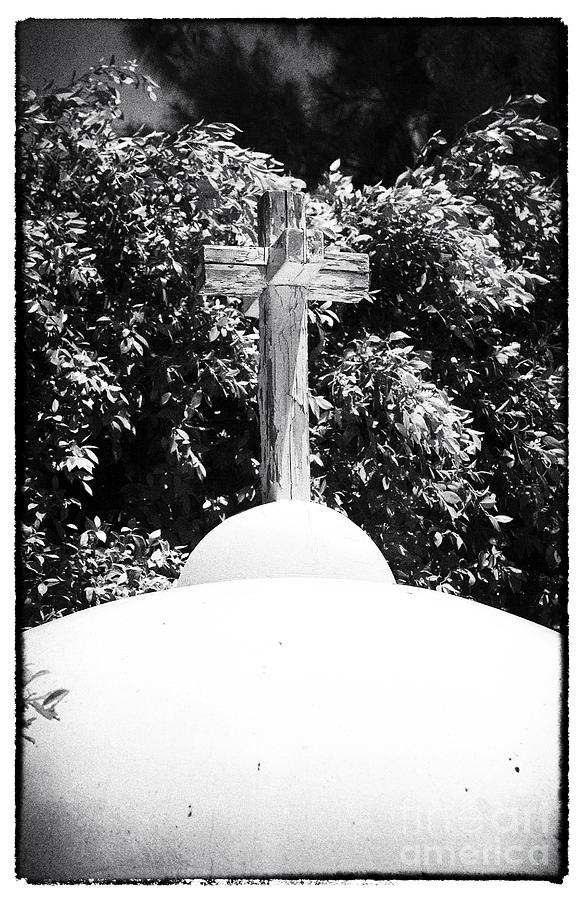 Cross Photograph - Cypriotic Crucifix by John Rizzuto