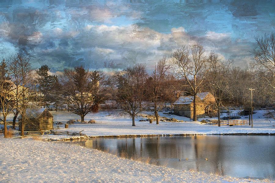 Landscapes Photograph - Cyrus Mccormick Farm by Kathy Jennings