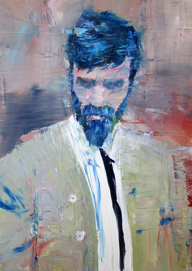 D H Lawrence Painting By Fabrizio Cassetta