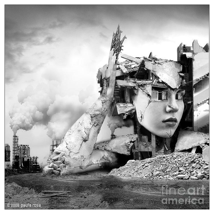 d K Digital Art by Paula Rosa