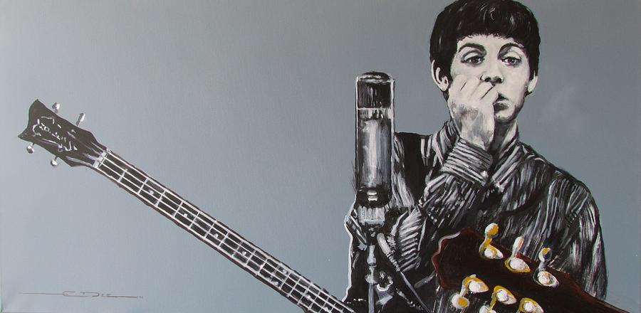 Paul Mccartney Painting - D-note by Eric Dee