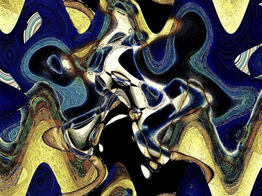 Abstract Photograph - Da Blues by LeeAnn Alexander