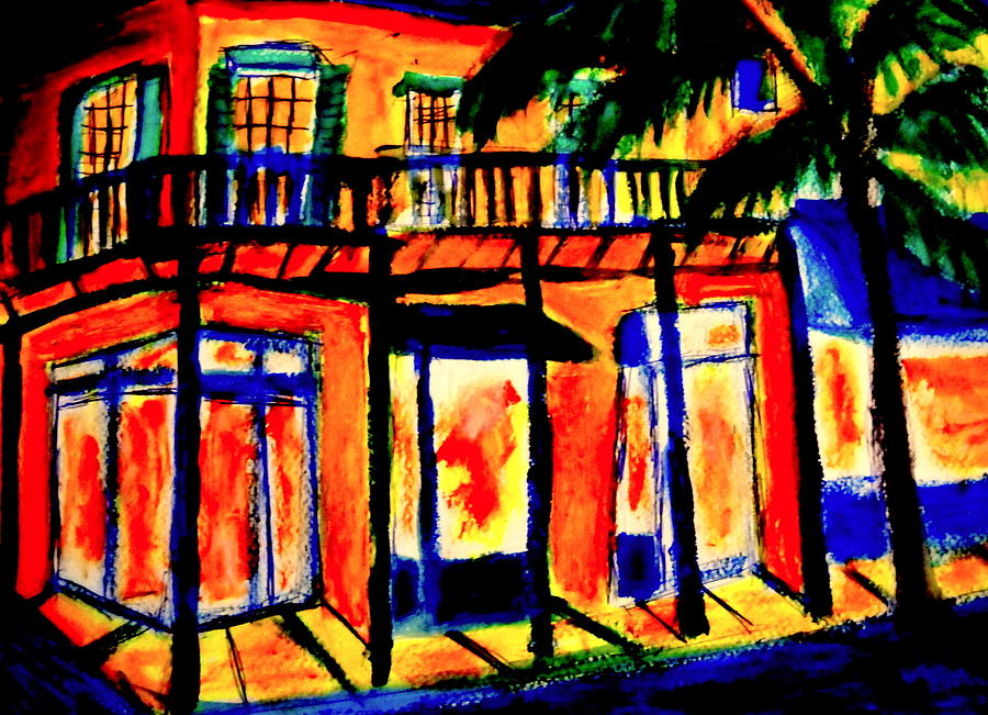 Da Marigny Painting by Ted Hebbler