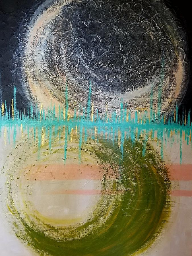 Abstract Painting - Daath by Ygkg Art