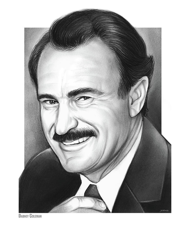 Dabney Coleman Drawing