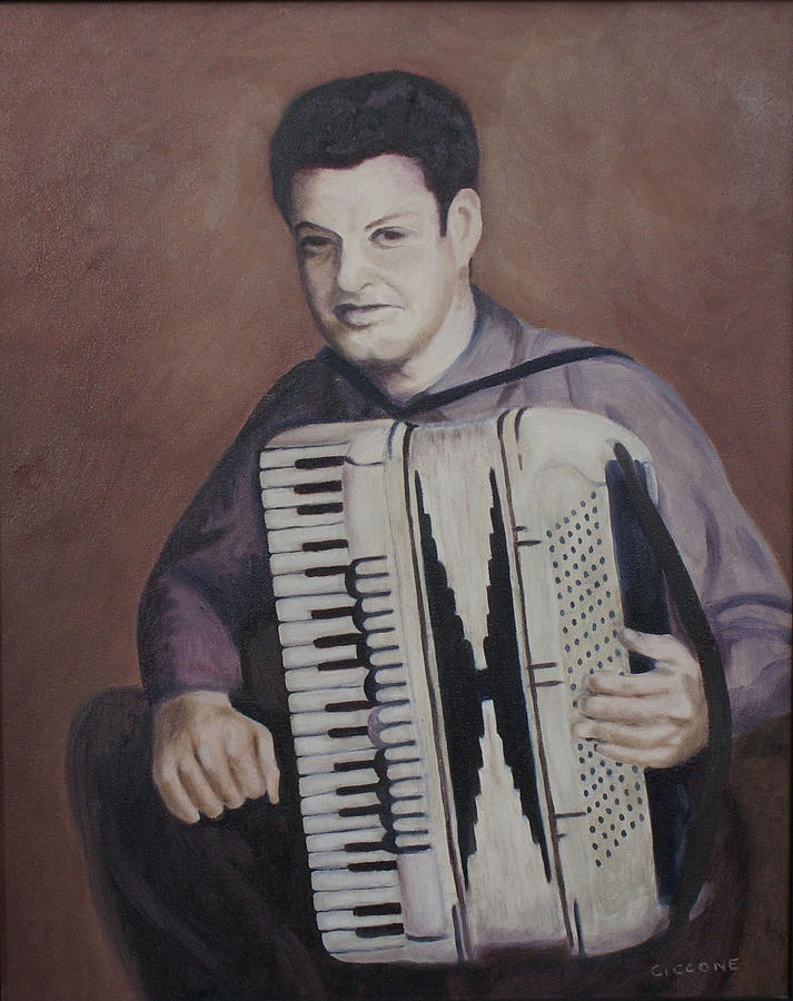 Daddy and His Accordion by Jill Ciccone Pike