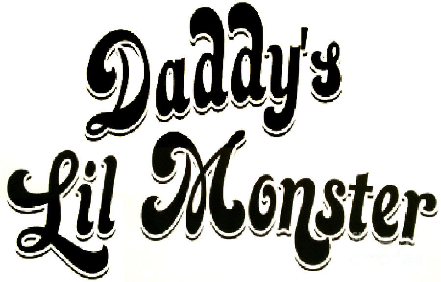 Daddy S Lil Monster Painting By Barry Boom