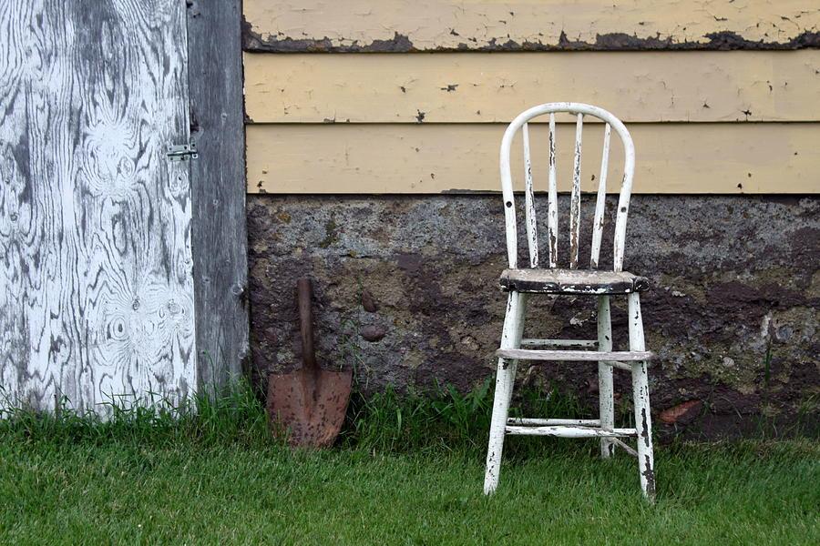 Chair Photograph - Dads High Chair by Lauri Novak