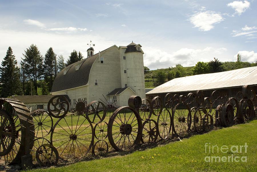 Historic Barn Photograph - Dahmen Barn by Louise Magno