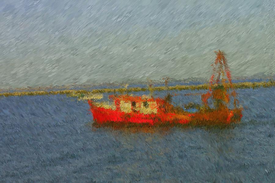 Daily Catch Painting - Daily Catch by Viktor Arsenov