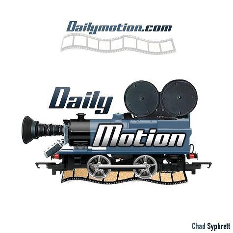 Dailymotion logo concept video camera locomotion on film for Camera film logo