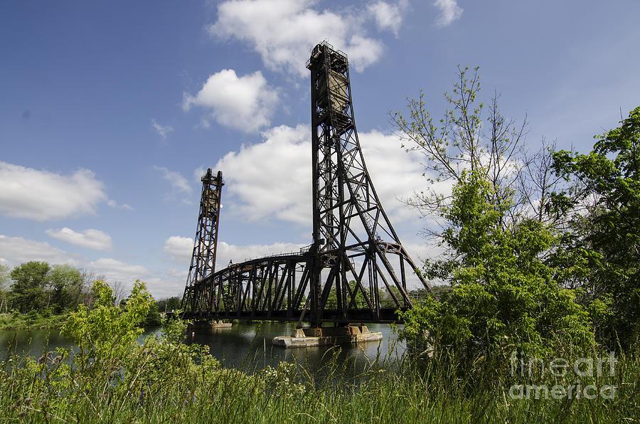 Welland Photograph - Dain City Railroad Bridge by JT Lewis