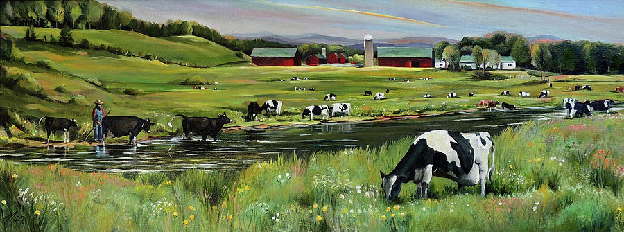 Dairy Farm Dream by Nancy Griswold