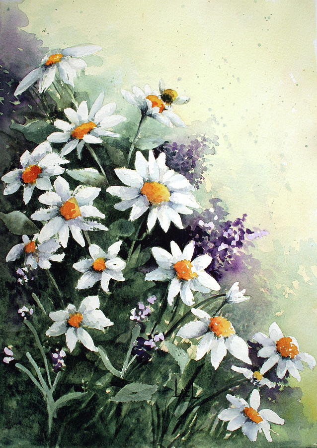 Daisies by Lael Rutherford