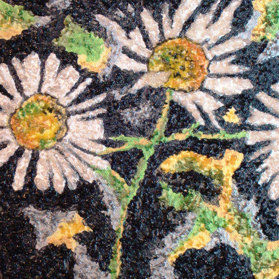 Landscape Painting - Daisy 2 by Amanda Schambon
