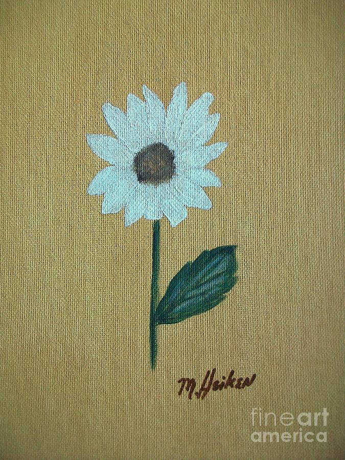 Daisy Painting - Daisy 2 by Marsha Heiken