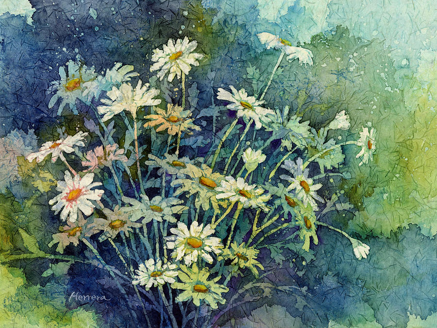 Daisy Bouquet Painting