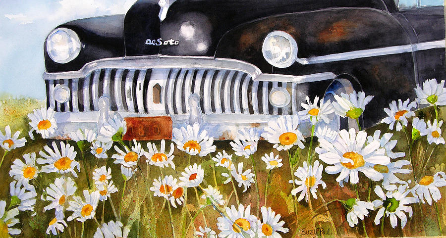 Artist Suzy 'pal' Powell Painting - Daisy Desoto by Suzy Pal Powell
