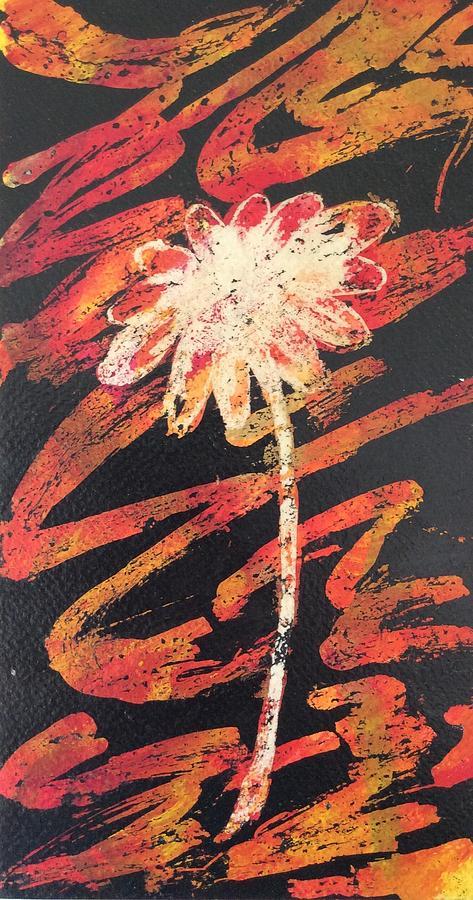 Daisy Painting - Daisy by Elizabeth Mundaden
