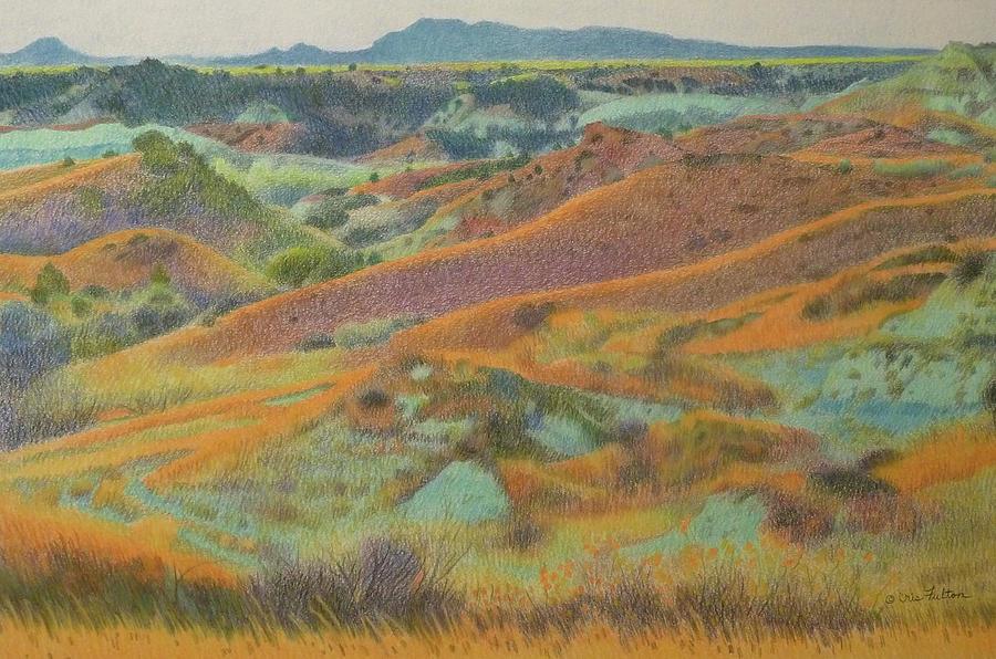 North Dakota Pastel - Dakota October by Cris Fulton