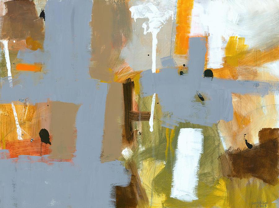 Abstract Painting - Dakota Street 6 by Douglas Simonson