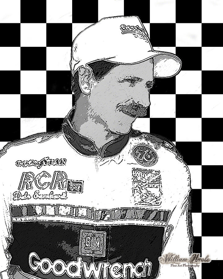 Dale Earnhardt Sr by William Havle