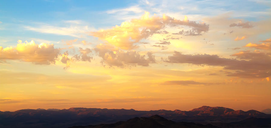 Desert Photograph - Dalis Sky by Mike Hill