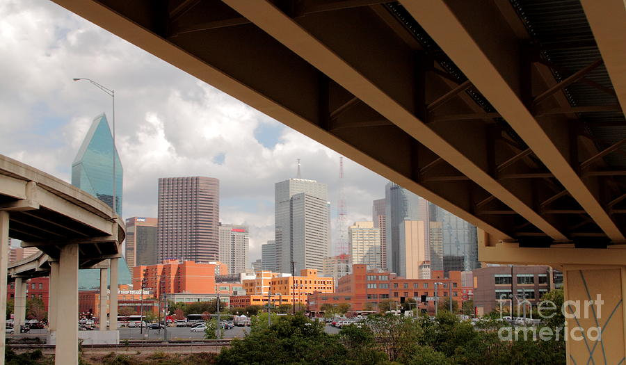 Landscape Photograph - Dallas Backside by Robert Frederick