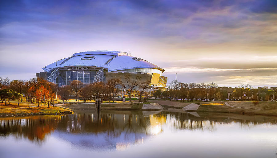 Dallas Cowboys Stadium Arlington Texas by Robert Bellomy