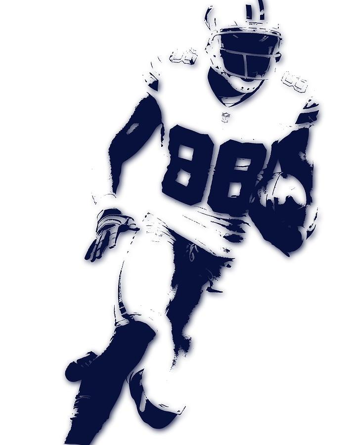Cowboys Photograph - Dallas Cowboys Dez Bryant by Joe Hamilton