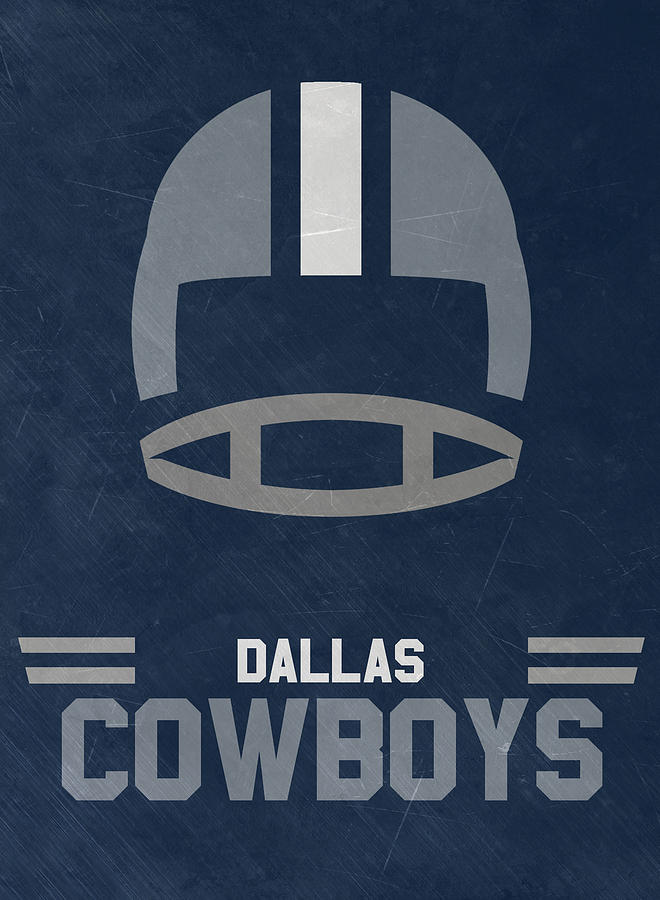 Cowboys Mixed Media - Dallas Cowboys Vintage Art by Joe Hamilton