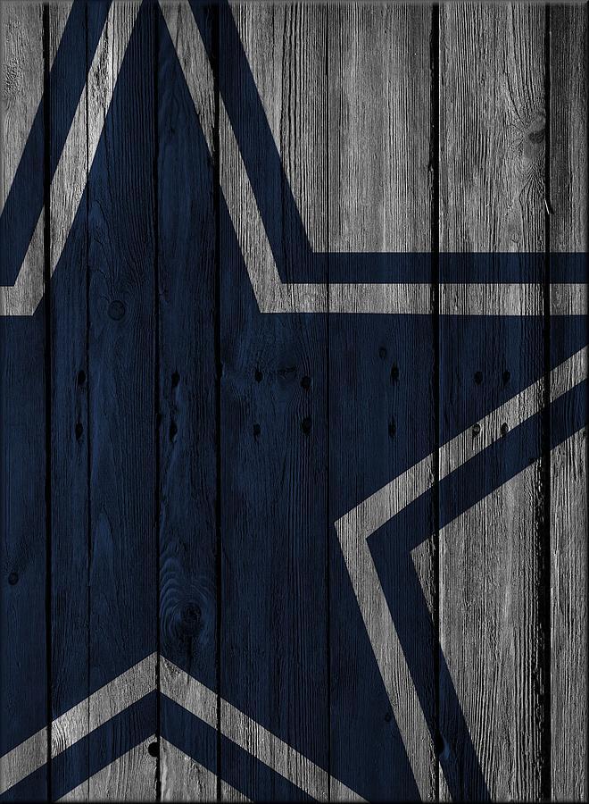 Dallas Cowboys Wood Fence