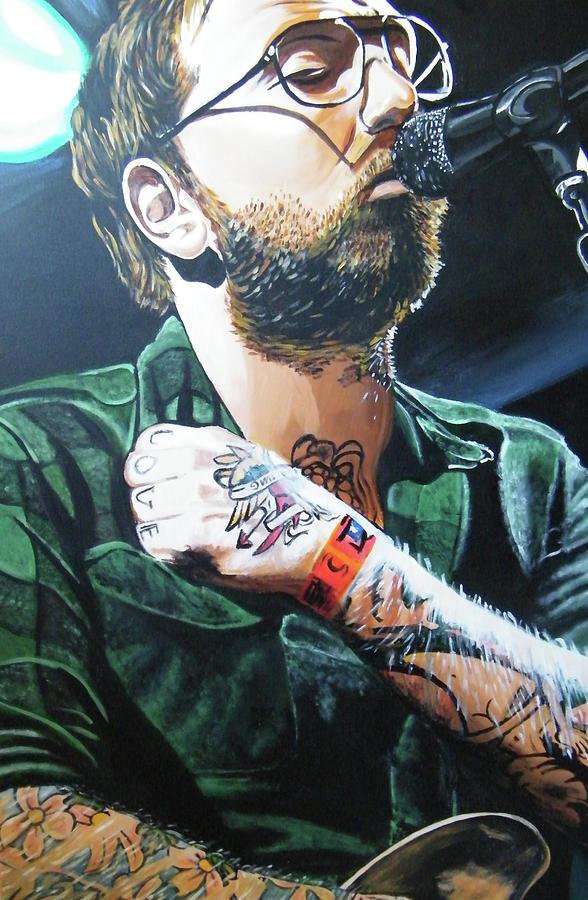 Dallas Green Painting - Dallas Green by Aaron Joseph Gutierrez