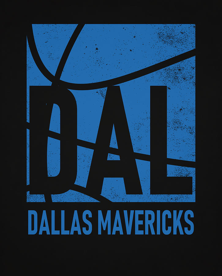 Mavericks Mixed Media - Dallas Mavericks City Poster Art by Joe Hamilton