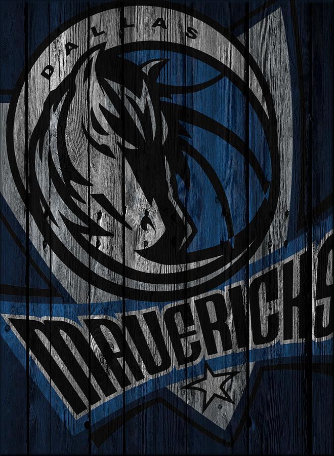 Mavericks Photograph - Dallas Mavericks Wood Fence by Joe Hamilton